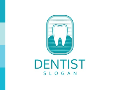 Dentist Logo tooth logo logo inspiration healthcare dental clinic teeth tooth stomatology dentistry dental dentist logo dentist logo for sale logo design logo