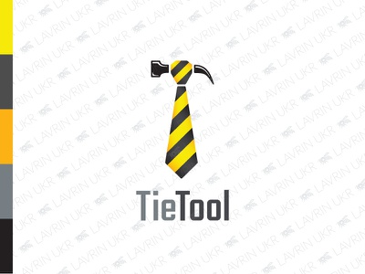 TieTool Logo brand identity work logo brand tool corporate logo career headhunting management hammer logo hammer tie logo tie creative logo forsale logo for sale logo inspiration logo design logo