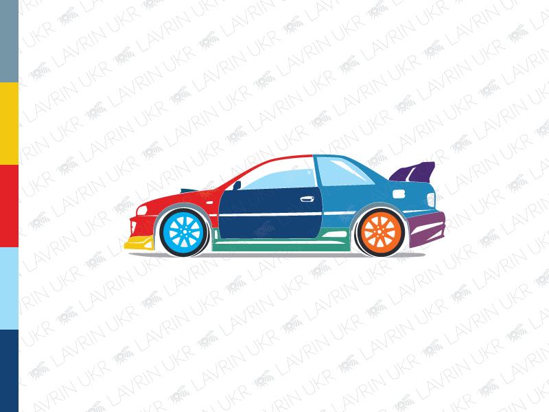 Car Paint Logo auto car colorful driver automotive automobile motor motorcar sports car car tuning auto logo car paint car logo creative identity branding logo inspiration logo design logo