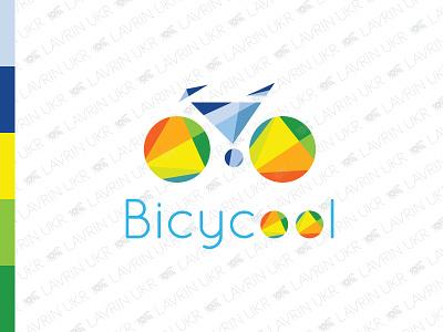 Bicycle Logo bike ride bike logo bike buy logo polygon colorful eco-friendly bicycling ride cycling bicycle logo for sale forsale creative identity branding logo inspiration logo design logo