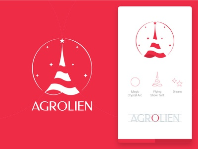 Agrolien Logo ios dream icon illustration design apple app animation android typography logo identity branding