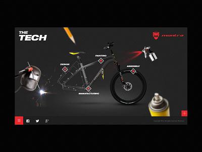 Montra Website - Tech page website flat web icon typography identity illustration ui ux branding