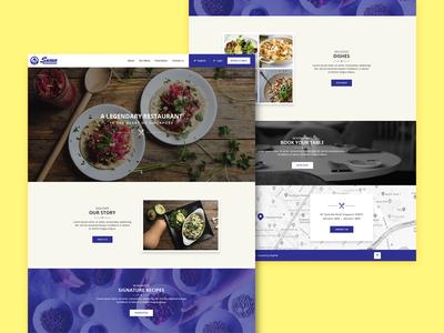 Web Design for a Singapore Resturant