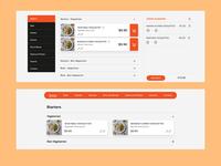 KB Website - menu interaction design