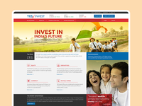 Yes Invest - Website Design Concept