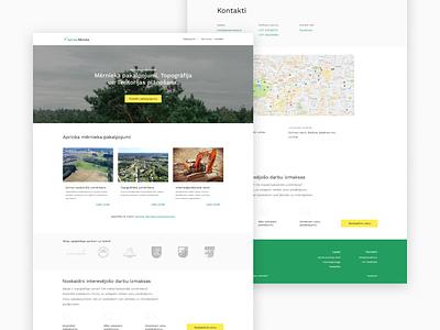 Website design page web design ux layout ui homepage landing page