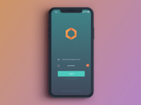Daily UI Challenge #001 - Login Screen