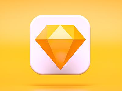 Sketch Mode switch ios14 apple octanerender appstore logo macos ui bigsur icons switch 3d c4d