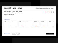 social. searcher