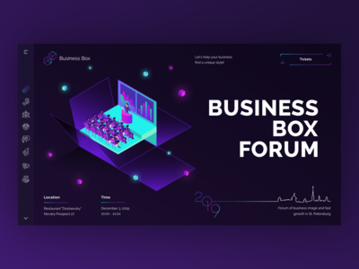 Business Box. Index page