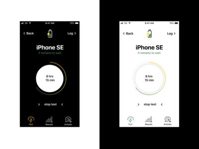iOS Battery Analyzer