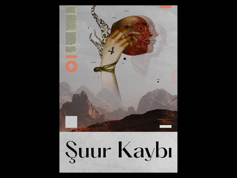 Suur Kaybi Collage Poster prints poster design posters collages typographic typo collage art collage print design print typography template design gradient poster a day daily poster a poster every day poster graphic  design graphic