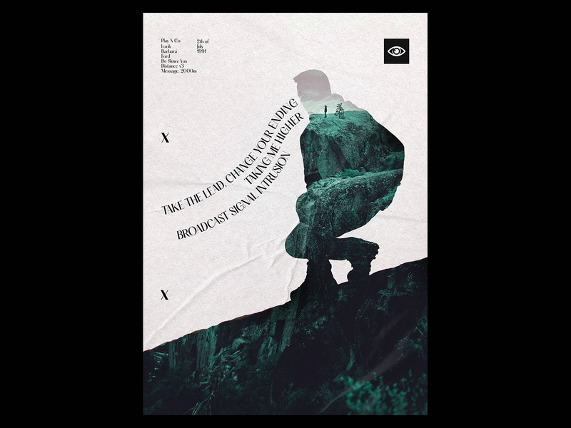 Higher  Play N Go Poster standing templates poster design posters print design prints double exposure doubleexposure minimal print template typography design gradient poster a day daily poster a poster every day poster graphic  design graphic