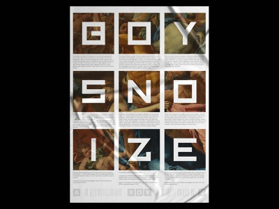 Boys Noize Poster old collage art collage poster design posters prints printing printmaking print design print template design typography gradient poster a day daily poster a poster every day poster graphic  design graphic