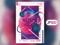 Free Abstract 1 Flyer/Poster Template