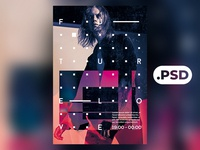 Free Abstract 3 Flyer/Poster Template