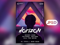 Free Abstract 5 Flyer/Poster Template