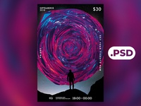 Free Abstract 6 Flyer/Poster Template