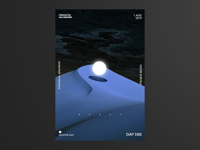 Xemrind Day 192 digitalart print design printing prints print digital illustration design illustration art illustrations illustration minimal template design graphic gradient poster a day poster graphic  design daily poster a poster every day