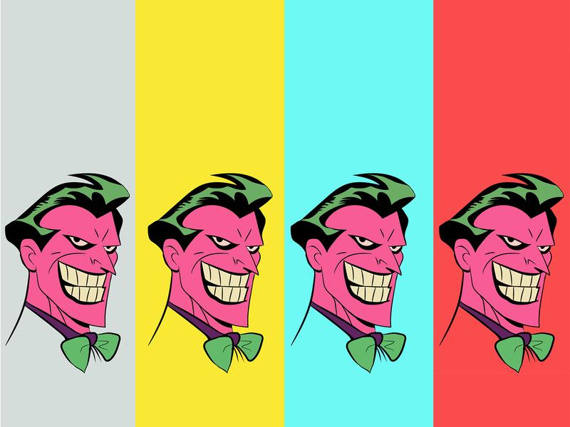 Joker Vector Art design vector portrait vector vector art illustration cartoon character