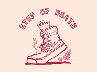 Step Of Death ( Merch Design )
