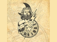 Zeus illustration consept