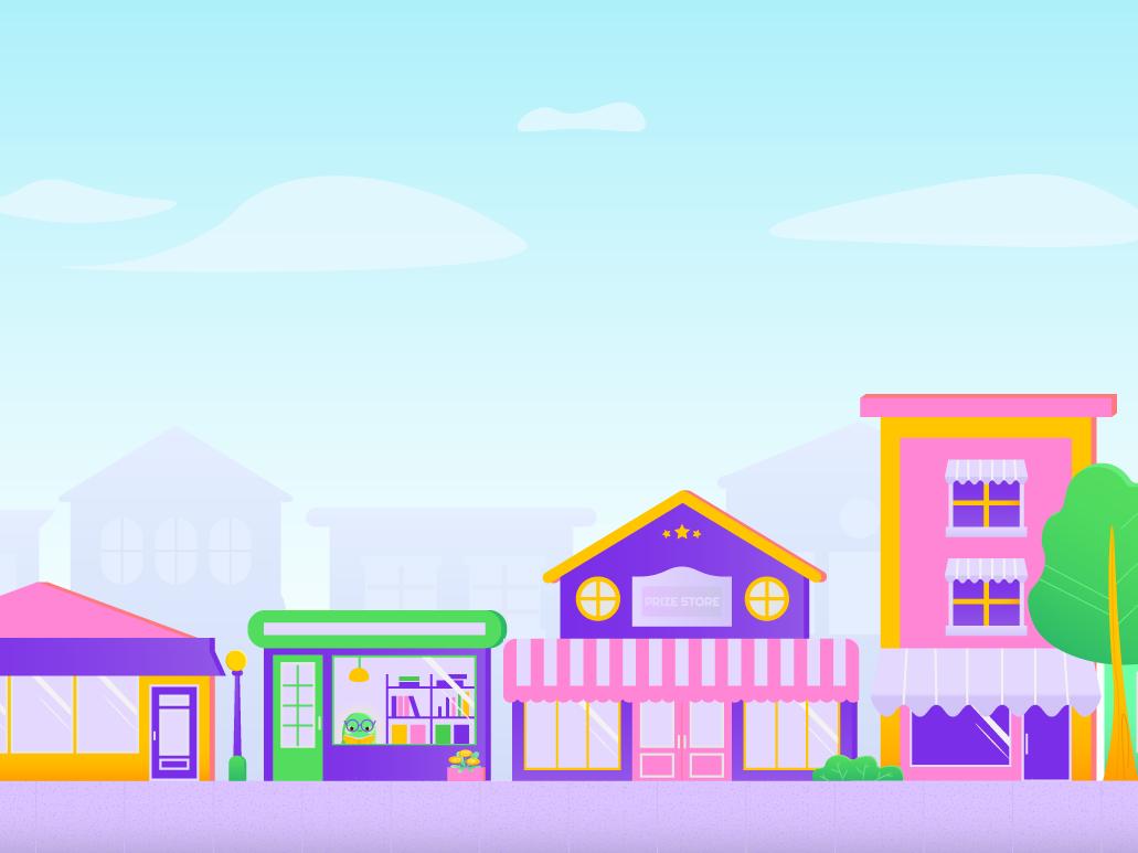 City Illustration store children illustration city