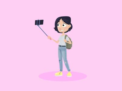 Character - Selfie Girl