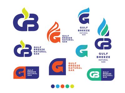 GBNG gas flame g identity branding logotype logo vector design shapes illustration minimal