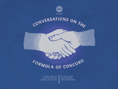 Conversations on the Formula of Concord textures hands hand drawn hand shake design christian texture minimal