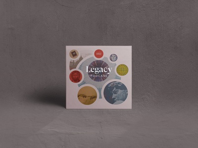 Legacy Podcast podcast cover podcast theology 1517 legacy design album art christian shapes illustration texture minimal