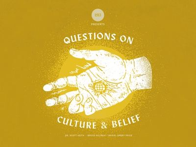 Questions on Culture and Belief theology textures culture hand hand drawn hand made design christian shapes illustration texture minimal