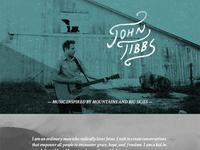 John Tibbs Web update