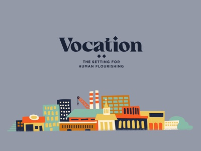 Vocation 2 miminal illustrated sketch factory building buildings design vector texture minimal illustration