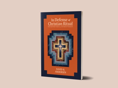 In Defense design minimal texture book cover art 1517 theology christian cross defense publishing book cover design book design book cover