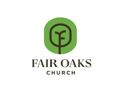 Fair Oaks branding fair oaks fair oak oaks tree logo f logo f tree church identity logo type logo design logos typography logo design branding illustration minimal