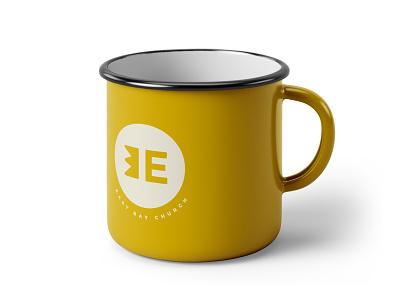 East Bay Church e east bay east logo design identity logo branding design christian minimal