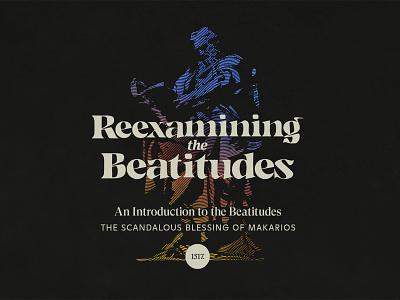 Reexamining the Beatitudes lines etching bible theology series art design line art