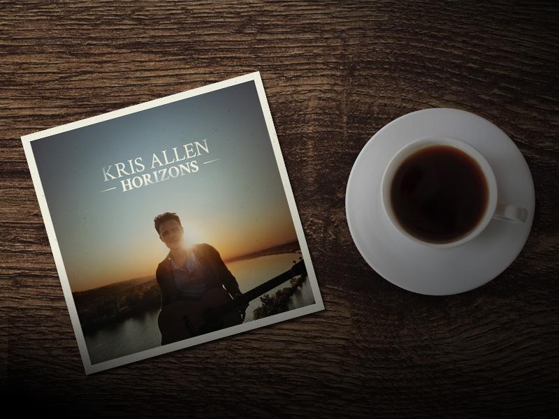 Horizons Dribbble krisallen kris allen single album album art horizons