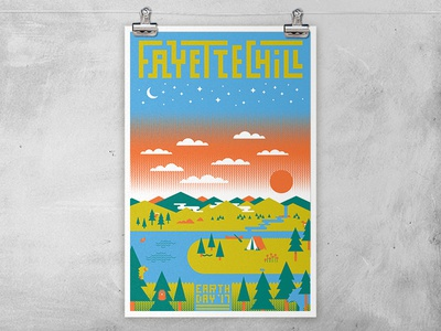 Fayettechill Poster Template Mockup Dribbble