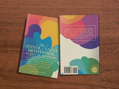 Sinner / Saint Devo Psalms mockup books book art publishing 1517 shapes minimal lutheran devo devotional psalms color saint sinner christian book cover cover book