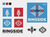 Ringside podcast branding