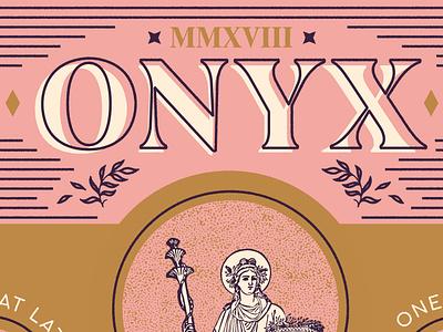 ONYX Fall Seasonal Menu 2018 demeter menu harvest autumn fall coffee onyx