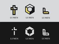 unused LUMEN branding concepts
