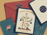 ONYX 2018 Christmas Card mockup