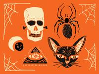 Onyx Spooky Doodles