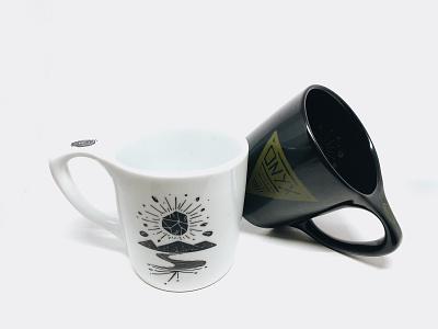 Morphic Mugs morphic mugs notneutral product product design onyx coffee mug coffee mug