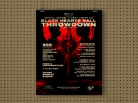Crystal Bridges - Black Hearts Ball / ONYX Throwdown poster