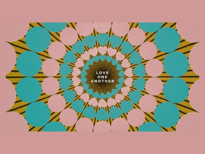 love one another shapes another love heart sereis art series christian minimal illustration texture