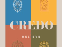 Credo book cover design